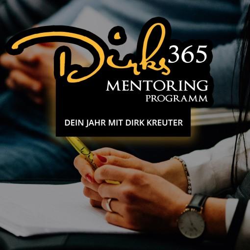 Dirk Kreuter 365 Mentoring