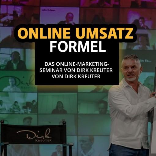 Dirk Kreuter Seminar Onlinemarketing