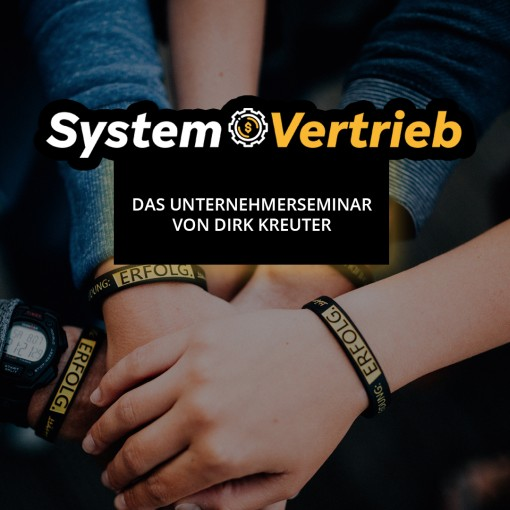 Dirk Kreuter Seminar Systemvertrieb